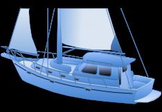 Dekzeil zeilboot