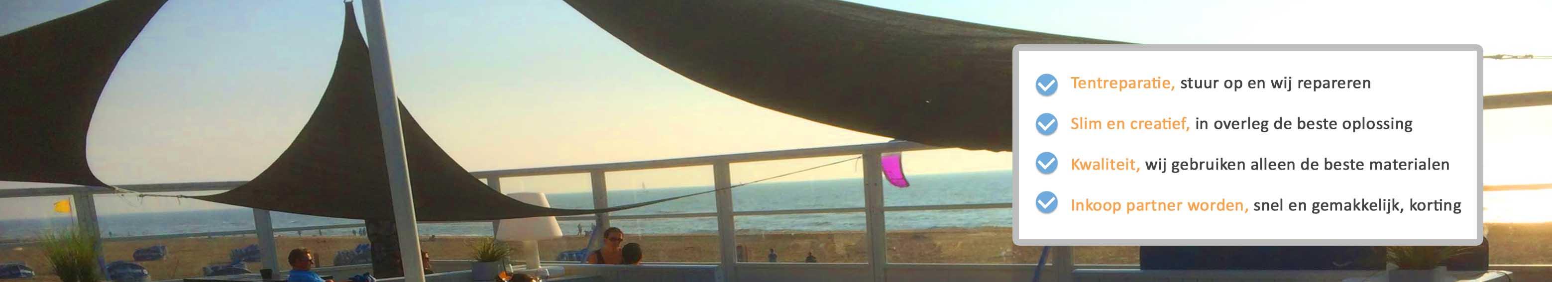 Strandtenten- paviljoens
