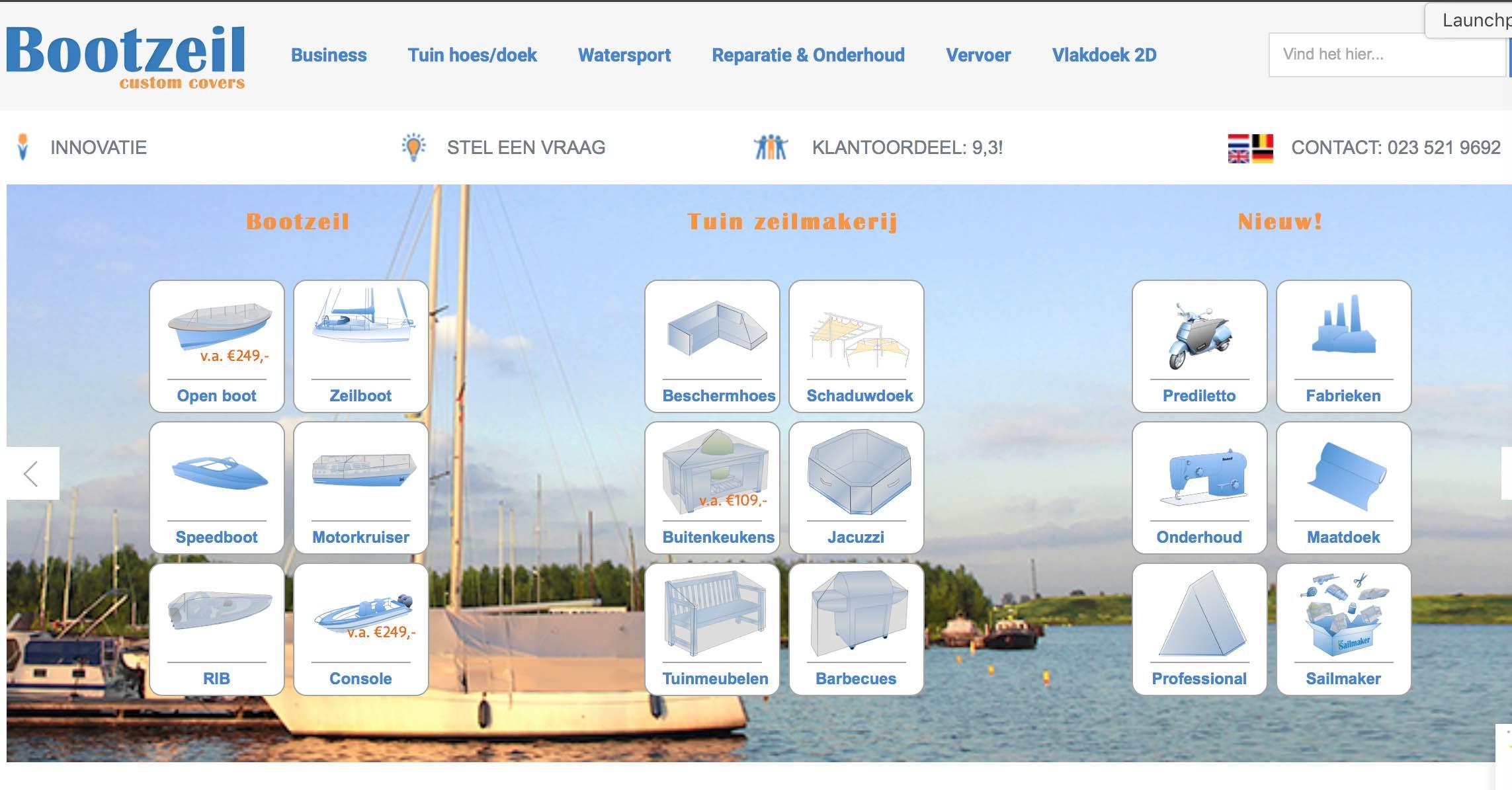 homepage-bootzeil