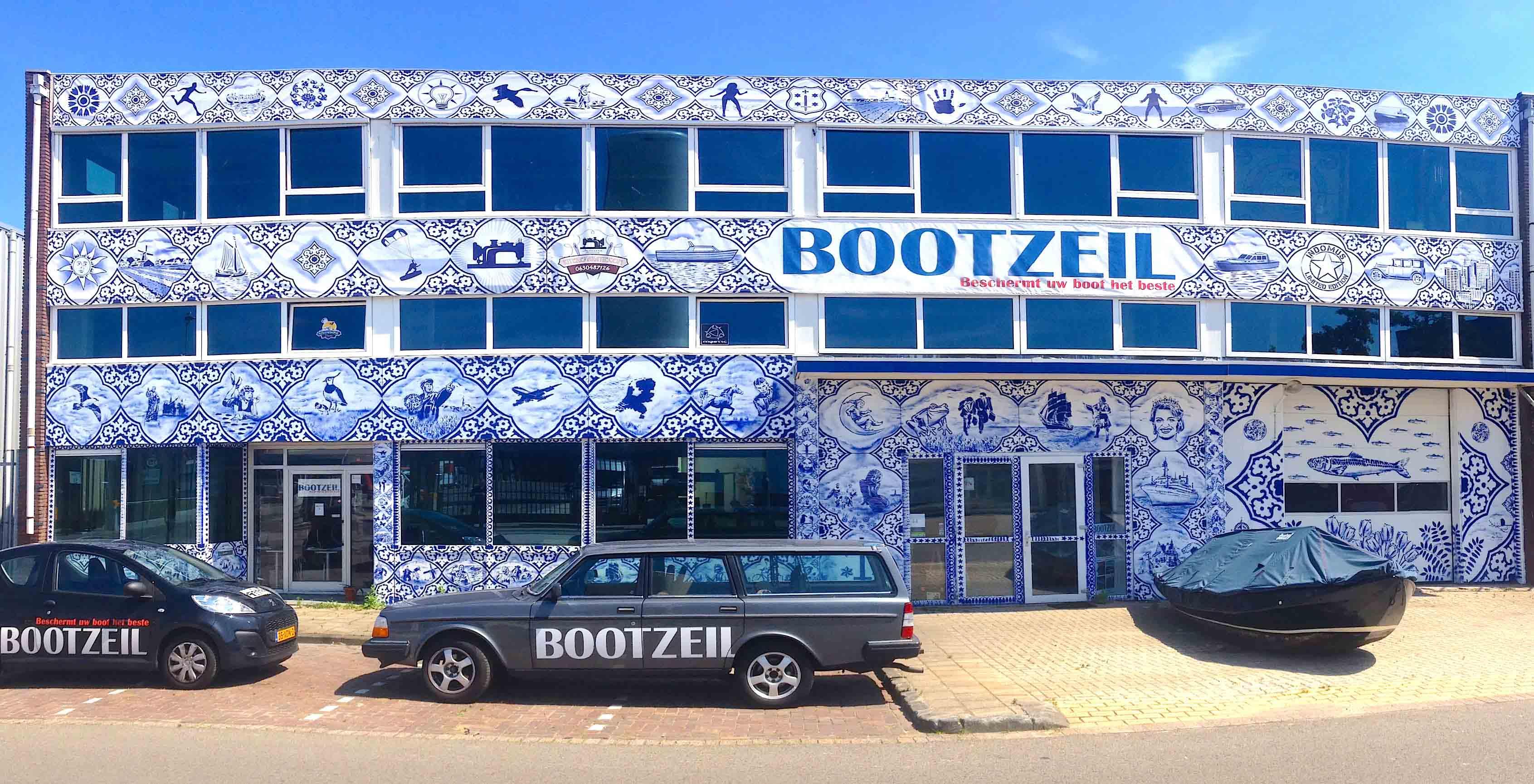 bootzeil-pand