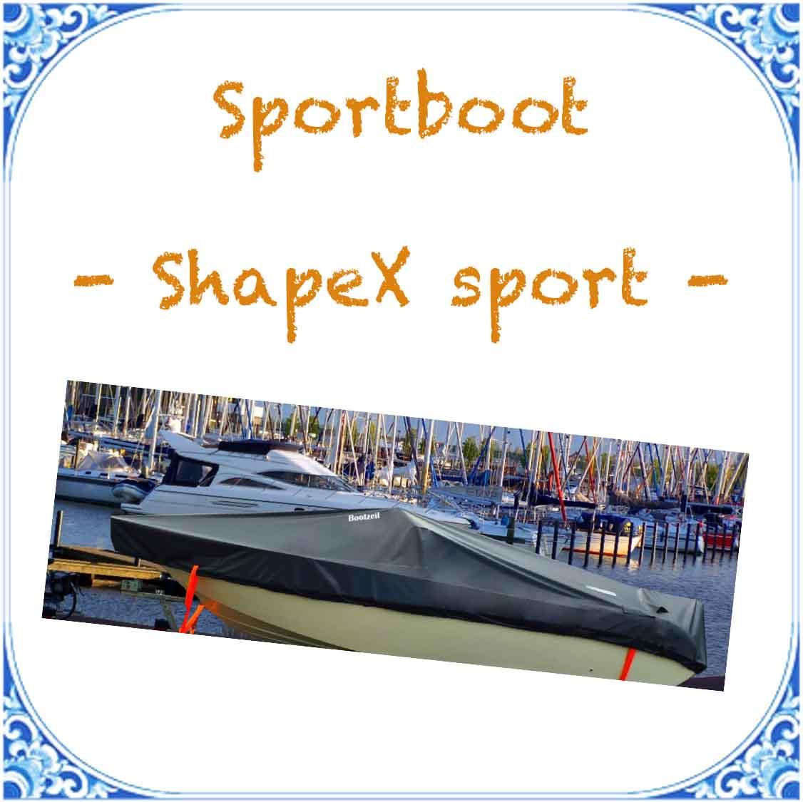 dekzeil shape x sport