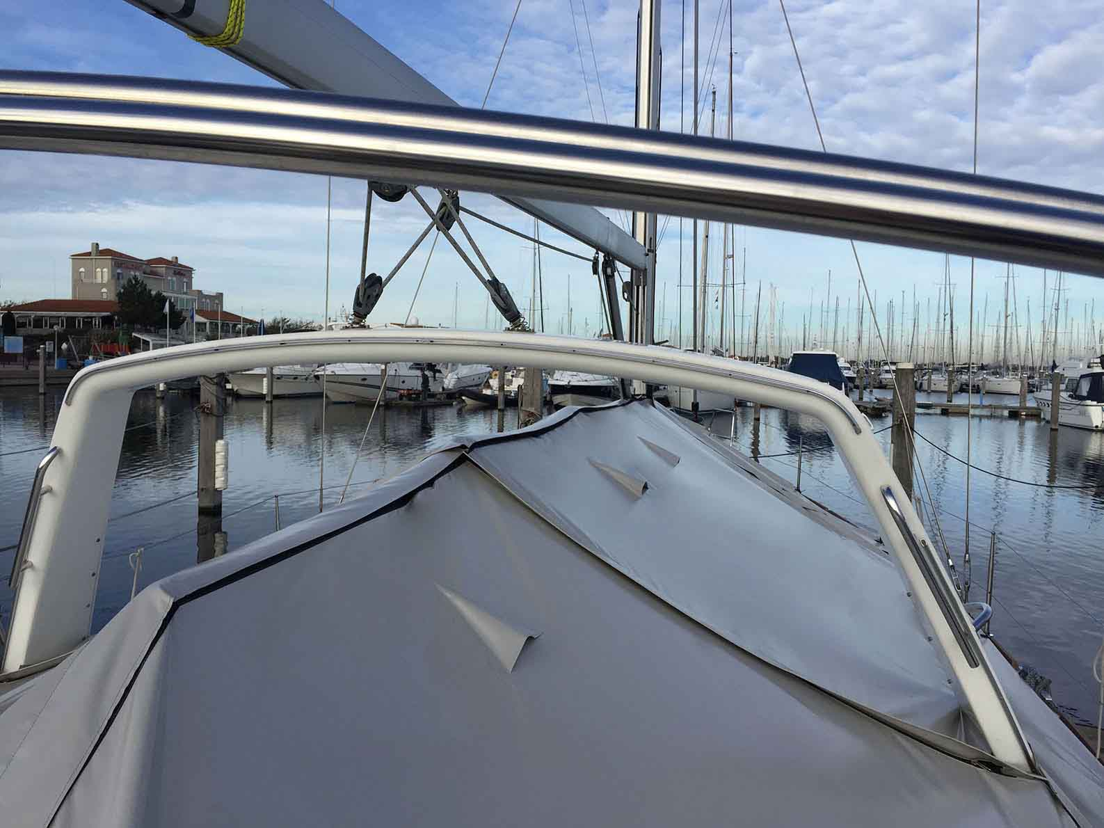 ultra low boatcover oceanis