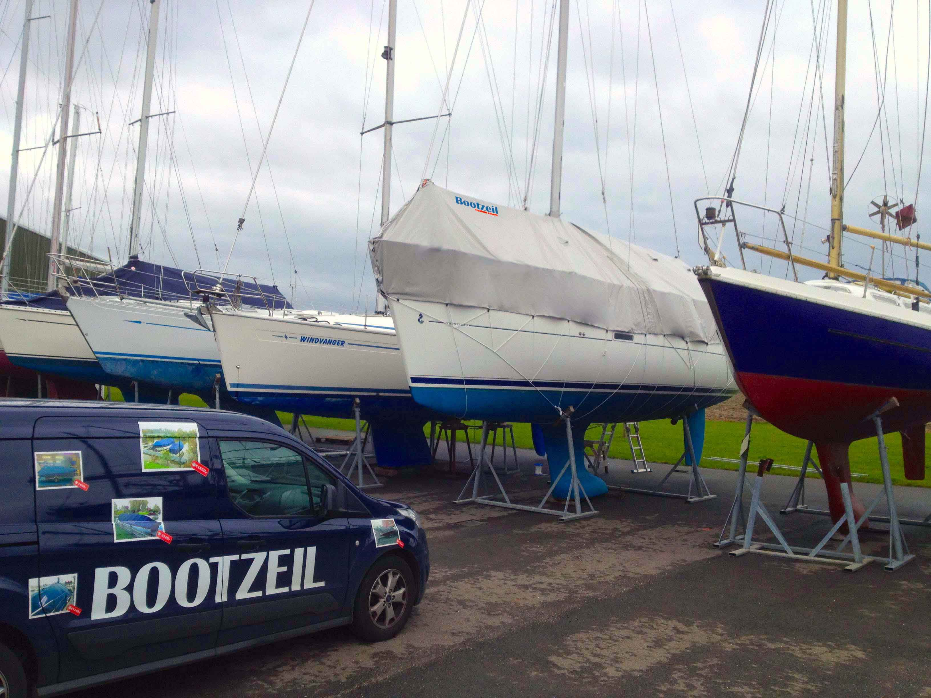zeilboot-dektent