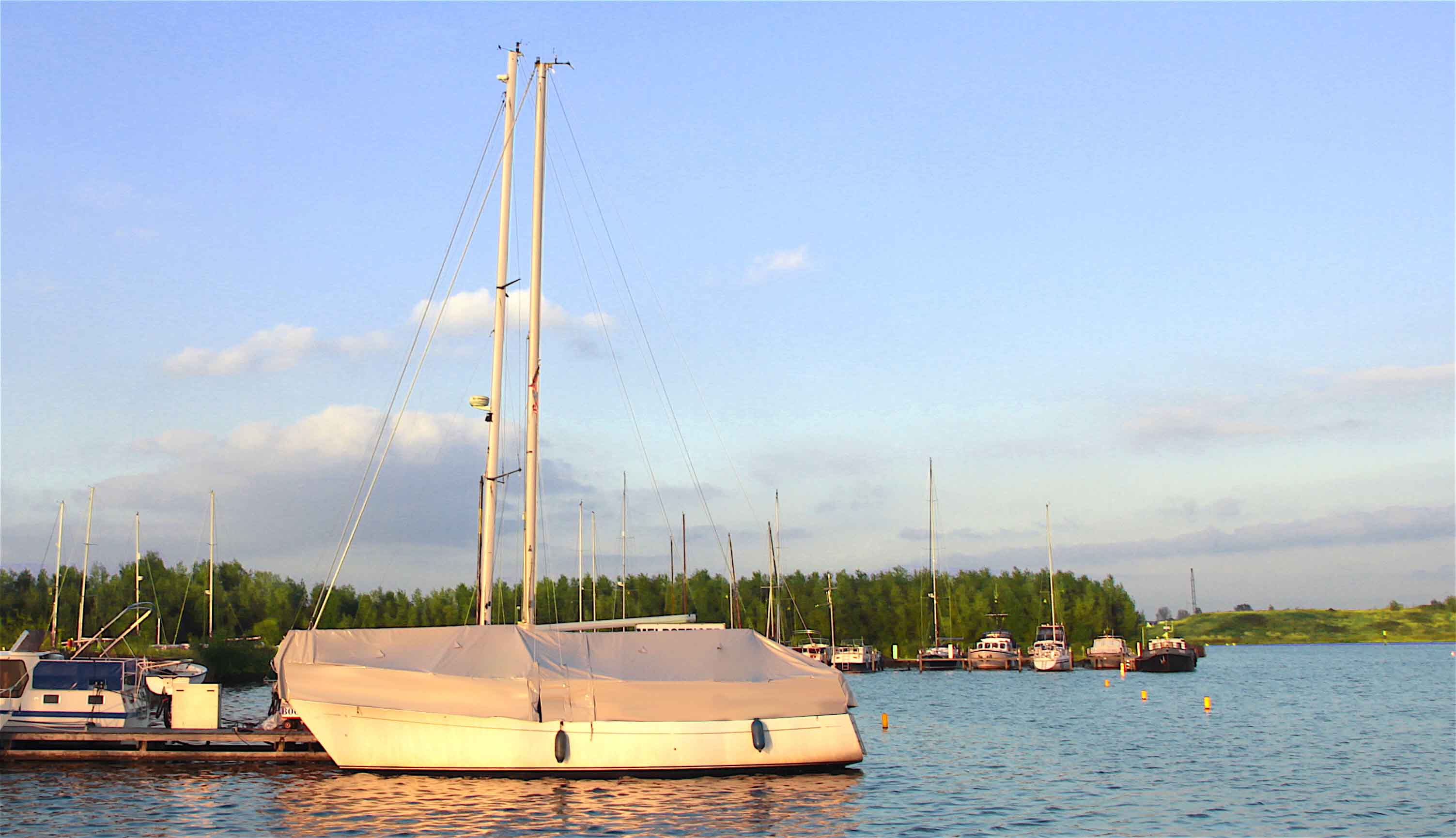 zeilboot winterdekzeil